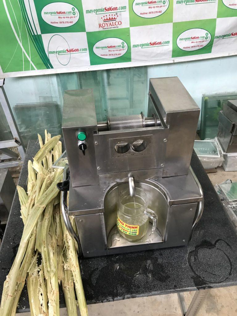 Máy ép nước mía Quận Bình Thạnh siêu sạch