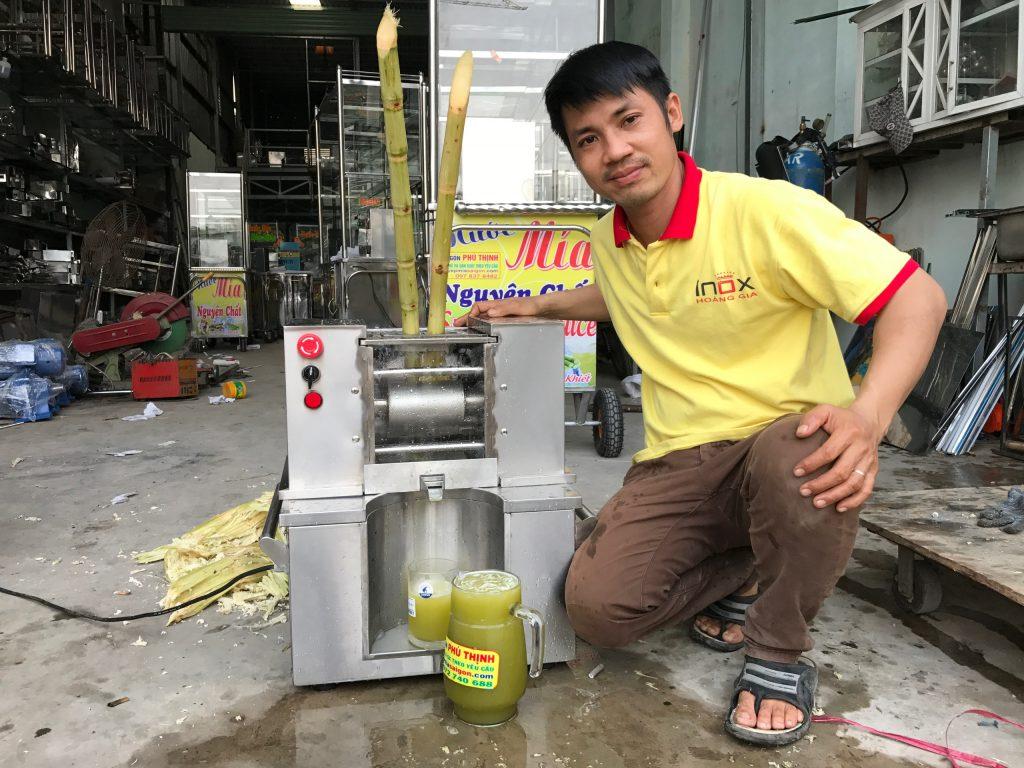 Máy ép mía Quận Tân Bình xuất khẩu
