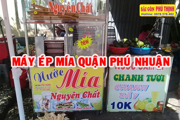 Máy ép nước mía quận Phú Nhuận
